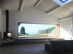 Laurent Deroo Architect Cabin Interiors, Architecture, Windows, Laurent, House, Puppet, Arquitetura, Home, Architecture Design