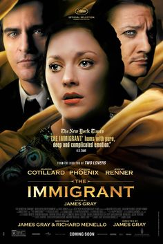Movies I've Watched: The Immigrant (2014) 3/5*