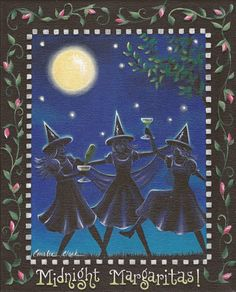 """Midnight Margaritas"" by King of Mice Studios, Practical Magic Series   LOVE LOVE LOVE"