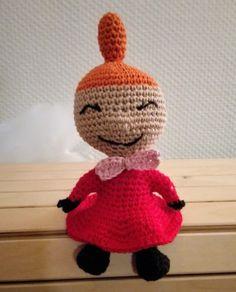 Little My from Moomin – free pattern – Katrine Klarer Knitting Patterns, Crochet Patterns, Knit Crochet, Crochet Hats, Cardboard Toys, Crafts For Kids, Diy Crafts, Thick Yarn, Little My