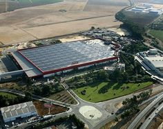 Coca-Cola Sevilla, Spain RubberGard EPDM / ISOGARD HD Fully Adhered System (FAS) 92.000 m²