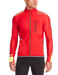 Gore Bike Wear Mens XRun Ultra Windstopper Soft Shell Light Jacket Red Small -- Check this awesome product by going to the link at the image. This is an Amazon Affiliate links.