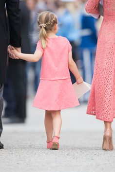Princess Estelle attend the christening of Prince Alexander of Sweden at Drottningholm Palace Chapel on September 9, 2016 in Stockholm, Sweden.
