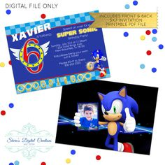 "Check out this item in my Etsy shop https://www.etsy.com/listing/387649898/super-rings-invitation-fb-event-cover  Copyright © 2011 International Olympic Committee (""IOC""). All rights reserved. SONIC THE HEDGEHOG characters © SEGA, SEGA, the SEGA logo and Sonic The Hedgehog are either registered trademarks or trademarks of SEGA Corporation. All rights reserved."