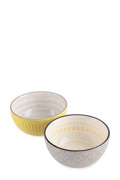 Set Of 2 Pad Print Bowls From The Next Uk Online