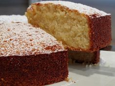 Almond cake - forget ice cream, this cake heaven. Get the recipe from the Recipes Around the World website