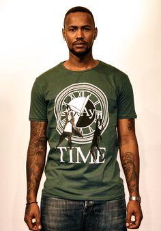 Play Time 2 Lloyds hanging on the same clock   #tshirts #playshirts #prints #fashion #street #wear #mens #clothing #pop #art #Lloyd #Christopher #Harold #back #future #movie #clock #hanging #cult