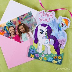 My Little Pony Party Ideas: Invitations - Click to View Larger