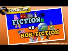 Fiction vs. Non-fiction (song for kids about distinguishing fiction vs. non-fiction texts) - YouTube