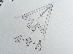 Logo Idea Sketch by @Letty Proud