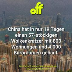 51 Fakten über China In China, Facts, Country, Chinese Mythology, Chinese Language, Chinese Words, Unbelievable Facts, Skyscraper, Rural Area