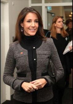 """Princess Marie opened the """"Meeting of Minds"""" conference. 29/01/2015"""