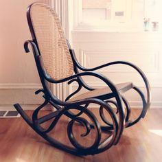 vintage bent wood chair