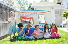 Every summer party needs an ice cream truck!