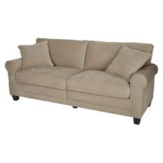 "Serta® RTA Copenhagen Collection 78"" Fabric Sofa, Vanity"