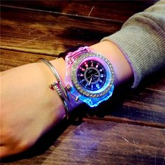 Mint Green, Green Sky, Orange Pink, Blue Yellow, S Shock, Couple Watch, Cute Candy, Luminous Colours, Candy Colors