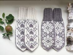 Knit Mittens, Knitting Socks, Knitting Patterns, Knit Crochet, Gloves, Sewing, Handmade, Diy, Fashion