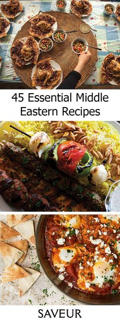 Break out the chickpeas and eggplant for our best recipes from across the Middle East