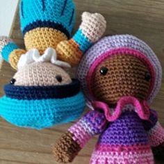 Zwarte Piet wiedewiedewiet k hoor je wel maar ik zie je niet. #piet #zwartepiet #sinterklaas #haken #crochet