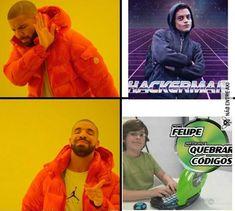 O cara de cima pode até ser bom,mas Felipe com o PC do Ben 10 é outro nível