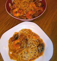 Espaguetis marineros (A la marinera) | La Cocina de la Abuela