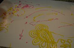 Tot Treasures: Dough Paint!!!
