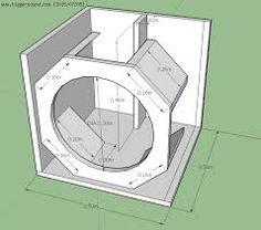 Diy Subwoofer, Subwoofer Box Design, Speaker Box Design, Home Audio Speakers, Speaker Plans, Sub Box, Audio Amplifier, Diy Cabinets, Technology Gadgets
