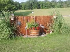 Image result for how to hide a propane tank