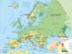 Mapa De Asia Fisico.Las 7 Mejores Imagenes De Mapa Fisico De Europa Mapa