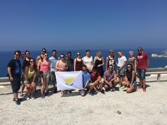 "Petra tou Romiou - Cyprus: Nikos and Manolis are having their internship in Cyprus (summer 2015).  A big ""thank you"" to Demetra Valtas and all the IAESTE Cyprus team for the amazing summer program they organize every year. Our trainees are always enjoying their time in Aphrodite's island :)"