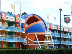 Disney's All-Star Sports Resort. Staying here when we go to Disney in May!