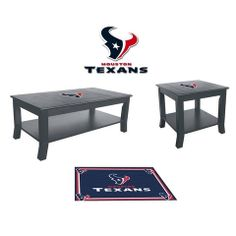 Use this Exclusive coupon code: PINFIVE to receive an additional 5% off the Houston Texans Table Set at SportsFansPlus.com