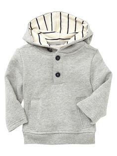 Gap | French terry popover hoodie