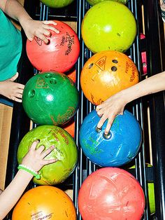 Throw a bowling birthday party with these fun treats, games, crafts, and more!