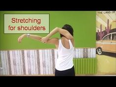 Stretching complex for shoulders - Anna LEV - YouTube Shoulder Stretches, Salsa Dancing, Belly Dance Costumes, Dance Art, Indian Paintings, Dance Moves, I Promise, Improve Yourself, Argentine Tango