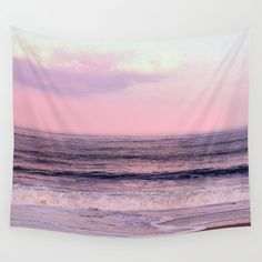 You will love this beautiful lightweight tapestry wall hanging that features my fine art photograph of the beach Sunset in pink and purple colors. This lovely large wall art piece is available in six sizes: 51 x 60 inches, 68 x 80 inches, and 88 x 104 inches without grommets; 26 x 36 inches, 50 x 59 inches, 59 x 80 inches with grommets for easy hanging. All Wall Tapestries are made of 100% lightweight polyester with hand-sewn finished edges. Featuring vivid colors and crisp lines, these…