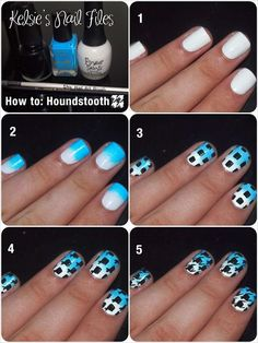 How To Do #Houndstooth