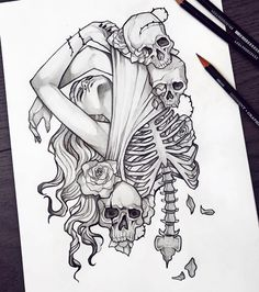 I gave myself promise to practice more even if I'll go to sleep at 5 am.😄 This original artwork is available at my new BIGCARTEL store! Flash Art Tattoos, Dope Tattoos, Badass Tattoos, Skull Tattoos, Body Art Tattoos, Sleeve Tattoos, Tatoos, Tattoo Design Drawings, Pencil Art Drawings