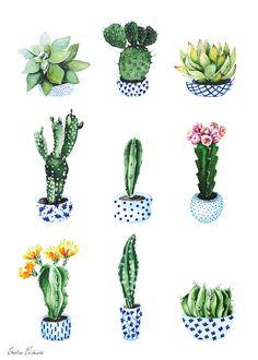 Tendenze arredo 2017: piante in casa #1 - Cactus mania | La gatta sul tetto