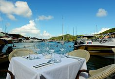 Bagatelle St. Barth, Gustavia Harbour, F.W.I, Restaurant, French Mediterranean Bistrot, Joie De Vivre, Art, Dining Room, Patio, Lunch, Dinner, Special Events, Specialty Cocktails, Scenic View