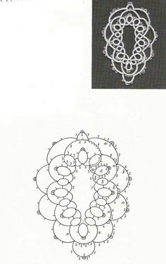 insert a stone? Tatting Earrings, Tatting Jewelry, Tatting Lace, Lace Patterns, Stitch Patterns, Crochet Patterns, Bead Crochet, Crochet Doilies, Needle Tatting Patterns
