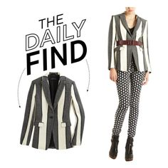 """""""The Daily Find: Rag & Bone Blazer"""" by polyvore-editorial ❤ liked on Polyvore"""