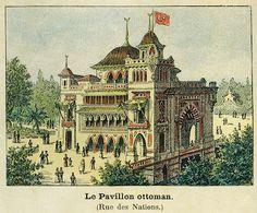 """Laurent ANTOINE """"LeMog"""" - World Expo Consultant: Le Petit Journal 1900 - Affiche Pavillons de l'Exposition"""