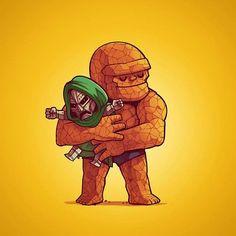 Villains Need Love: Naolito vereint Helden und Bösewichte in Liebe miteinander  Bösewichte aus der Popkultur haben jede Menge damit zu tun, böse zu sein und den Helden das Leben schwer zu machen. Da wäre es dringend nötig, d...
