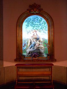 Divina Pastora de Mariano Bellver. Convento de Nuestra Señora de los Angeles. El Pardo. Madrid