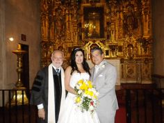 Congratulations to Anna Gonzalez & Freddie Enriquez on their April 2016 wedding at the Chapel of Saint Francis of Assisi at The Mission Inn in Riverside, CA. Francis Of Assisi, St Francis, Got Married, Getting Married, Mission Inn, Marriage License, Us Beaches, Beach Weddings, Hotel Wedding