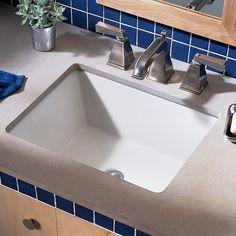 Bathroom Sink Types : Undermount sink