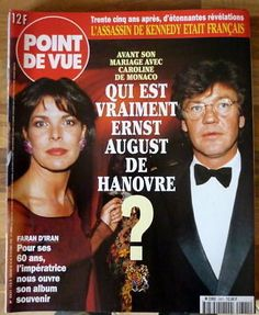 POINT DE VUE 2621 20/10/98 Ernst August Hanovre Monaco | eBay