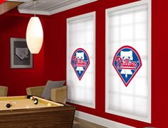 Philadelphia Phillies MLB® Roller Shade. Every MLB® Team Available!