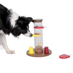 Trixie Activity Gambling Tower Dog Toy - No challenge is too great!